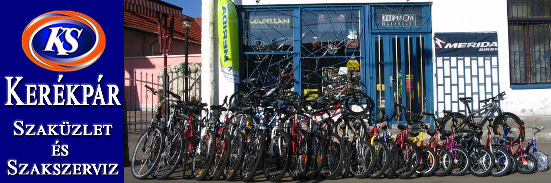 Kerékpárok értékesítése
